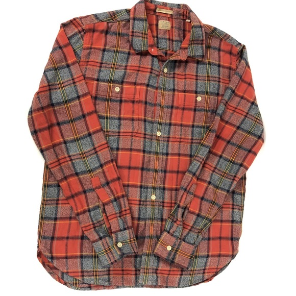 Lucky Brand Other - Lucky Brand Classic Fit Plaid Button Down Western
